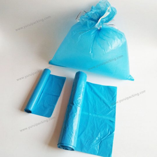 Large Capacity LDPE Recycled Bin Liner Garbage Bag
