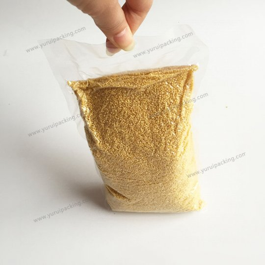 3 Side Seal Tubular Vacuum Pouch Food Bag
