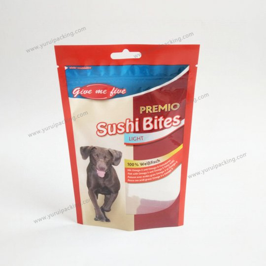 3 Side Seal Pet Food Plastic Bag