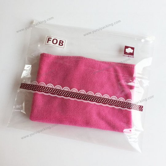 Slider Zipper Bags for Garment Packaging
