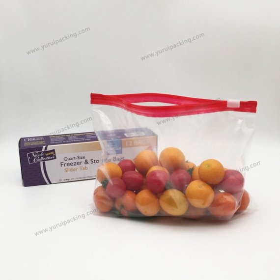 LDPE Proof Slider Zip Lock Bag PE Bag