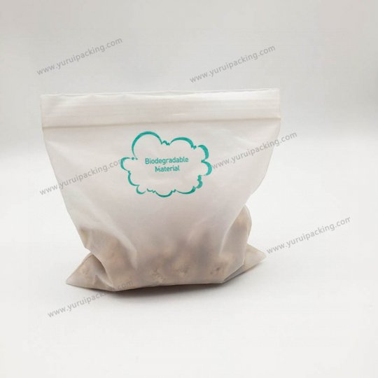 Resealable Food Storage Compostable Bags