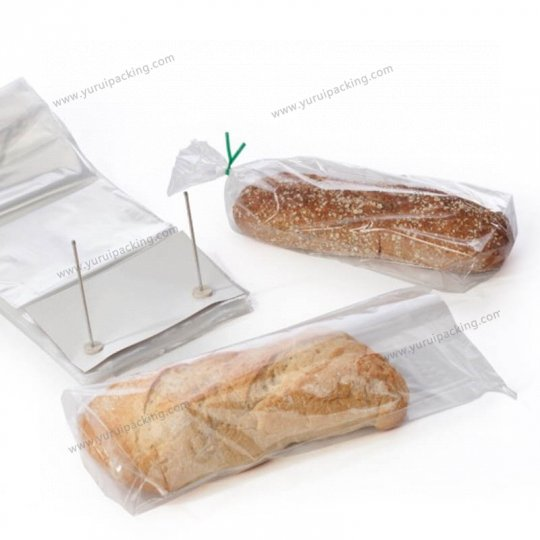 Clear Wicketed Bread Bag