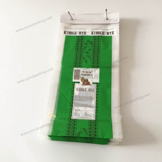 "Wicketed Plastic Bread Bags 12"" x 20"" 1000/case"